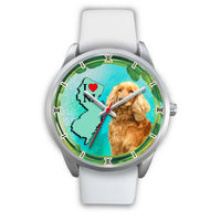 Lovely Cocker Spaniel Dog New Jersey Christmas Special Wrist Watch-Free Shipping - Deruj.com
