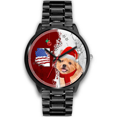 Norwich Terrier Arizona Christmas Special Wrist Watch-Free Shipping - Deruj.com