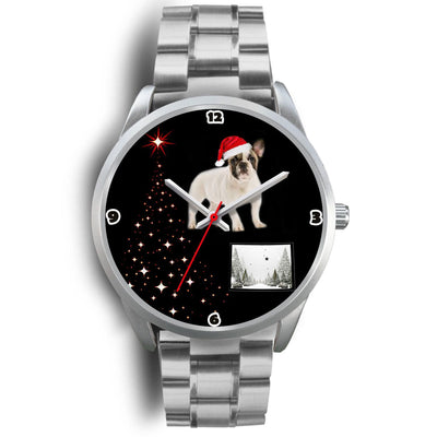 French Bulldog Colorado Christmas Special Wrist Watch-Free Shipping - Deruj.com