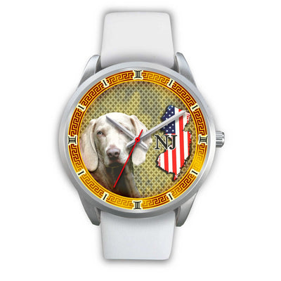 Weimaraner Dog New Jersey Christmas Special Limited Edition Wrist Watch-Free Shipping - Deruj.com