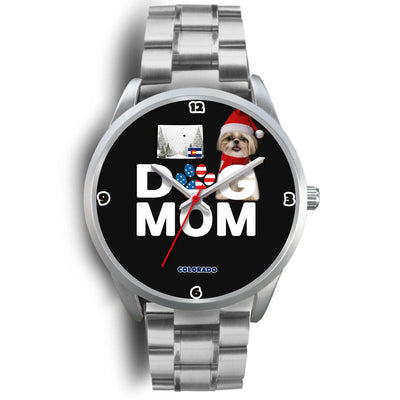 Shih Tzu Dog Colorado Christmas Special Wrist Watch-Free Shipping - Deruj.com