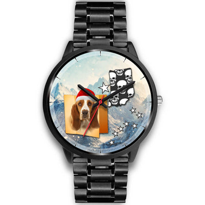 Basset Hound Indiana Christmas Special Wrist Watch-Free Shipping