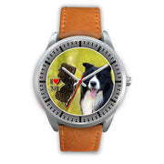 Lovely Border Collie Dog New Jersey Christmas Special Wrist Watch-Free Shipping - Deruj.com
