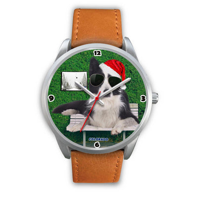 Border Collie Colorado Christmas Special Wrist Watch-Free Shipping - Deruj.com