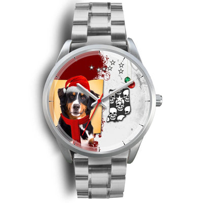 Cute Bernese Mountain Dog Indiana Christmas Special Wrist Watch-Free Shipping - Deruj.com