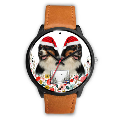 Australian Shepherd Colorado Christmas Special Wrist Watch-Free Shipping