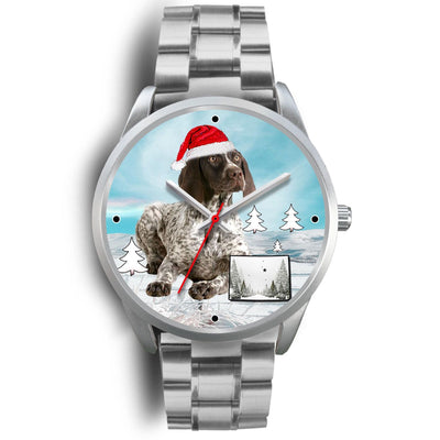 German Shorthaired Pointer Colorado Christmas Special Wrist Watch-Free Shipping - Deruj.com