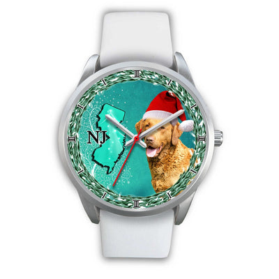 Lovely Chesapeake Bay Retriever Dog New Jersey Christmas Special Wrist Watch-Free Shipping - Deruj.com
