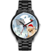 Cute Chihuahua Iowa Christmas Special Wrist Watch-Free Shipping - Deruj.com