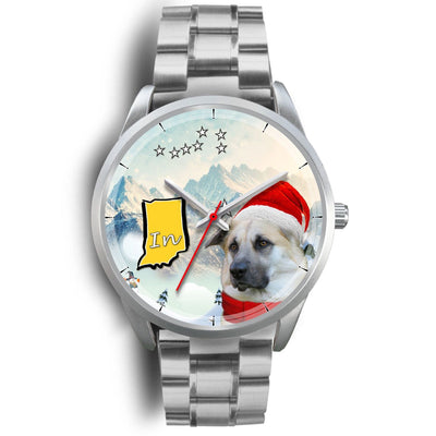 Chinook Dog Indiana Christmas Special Wrist Watch-Free Shipping