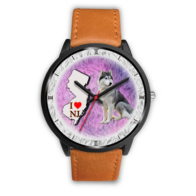 Siberian Husky Dog New Jersey Christmas Special Wrist Watch-Free Shipping - Deruj.com