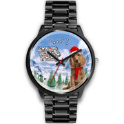 Cocker Spaniel Iowa Christmas Special Wrist Watch-Free Shipping