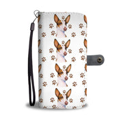 Ibizan Hound Dog Paws Patterns Print Wallet Case-Free Shipping - Deruj.com
