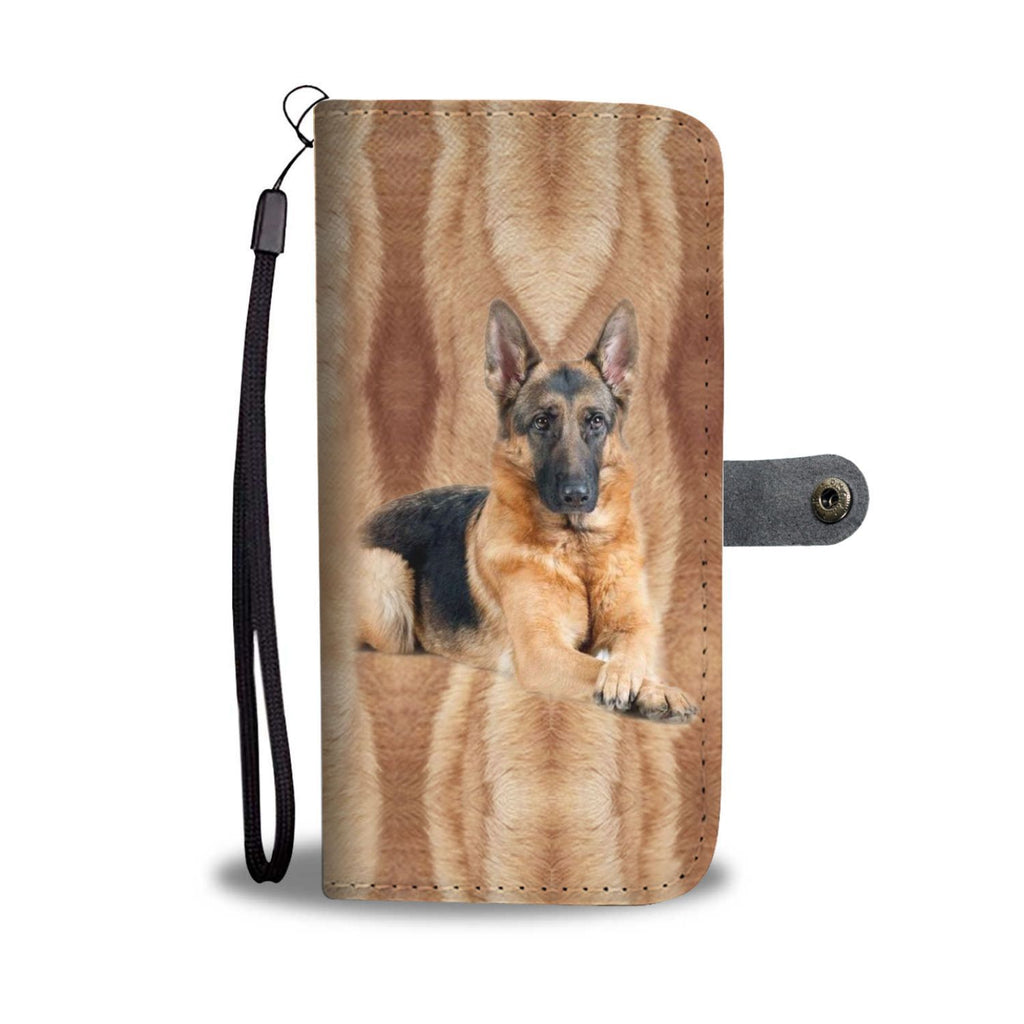 Amazing German Shepherd Dog Print Wallet Case-Free Shipping - Deruj.com