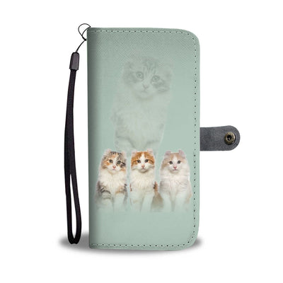 American Curl Cat Print Wallet Case-Free Shipping - Deruj.com