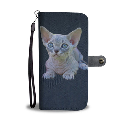 Lovely Minskin Cat Print Wallet Case-Free Shipping - Deruj.com