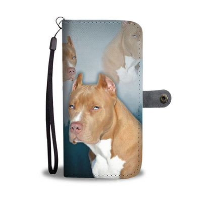 Pit Bull Terrier Print Wallet Case- Free Shipping - Deruj.com