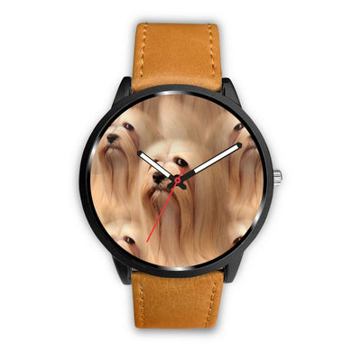 Lhasa Apso Dog Print Wrist Watch-Free Shipping - Deruj.com