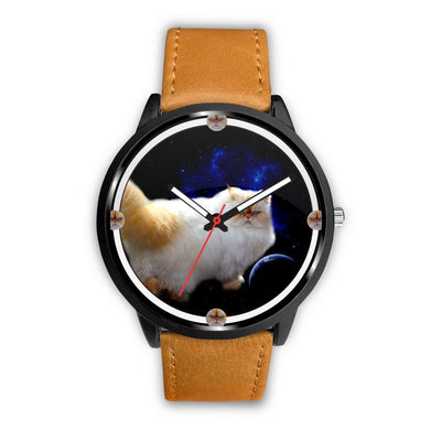Lovely Himalayan Cat Print Wrist Watch - Free Shipping - Deruj.com