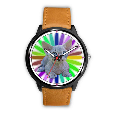 Minskin Cat Art Print Wrist watch - Free Shipping - Deruj.com
