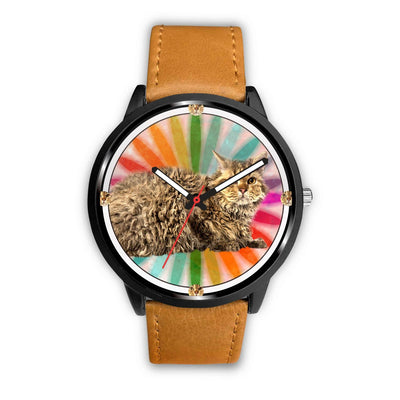 Amazing Selkirk Rex Cat Print Wrist watch - Free Shipping - Deruj.com