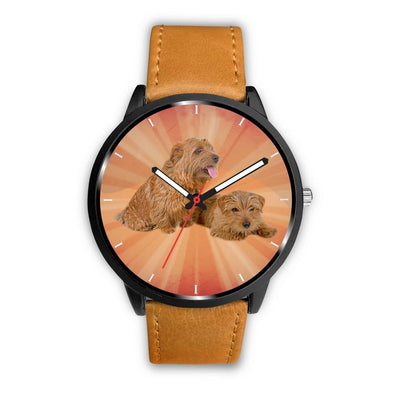 Norfolk Terrier Puppies Print Wrist Watch-Free Shipping - Deruj.com