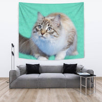 Ragamuffin cat Print Tapestry-Free Shipping - Deruj.com