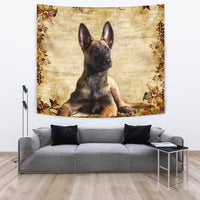 Cute Malinois Dog Print Tapestry-Free Shipping - Deruj.com