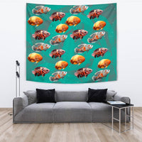 Lovely Oscar Fish Print Tapestry-Free Shipping - Deruj.com