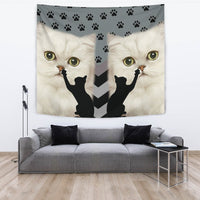 Persian cat Print Tapestry-Free Shipping - Deruj.com