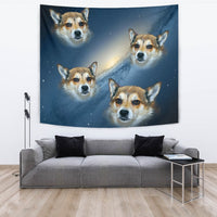 Norwegian Lundehund Print Tapestry-Free Shipping - Deruj.com