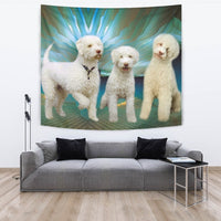 Lagotto Romagnolo Dog Print Tapestry-Free Shipping - Deruj.com