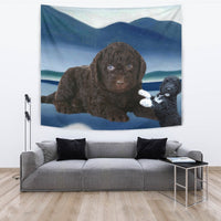 Cute Barbet Dog Print Tapestry-Free Shipping - Deruj.com