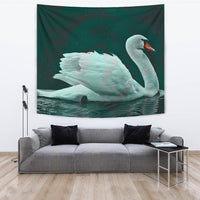 Lovely Swan Bird Print Tapestry-Free Shipping - Deruj.com