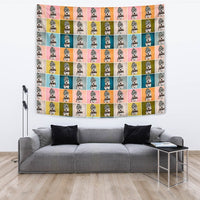 Dandie Dinmont Terrier Dog Pattern Print Tapestry-Free Shipping - Deruj.com