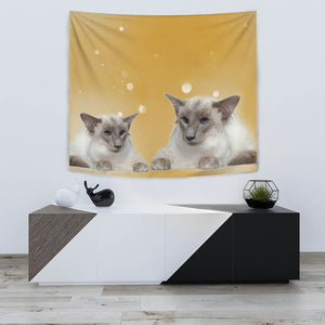 Balinese cat Print Tapestry-Free Shipping - Deruj.com