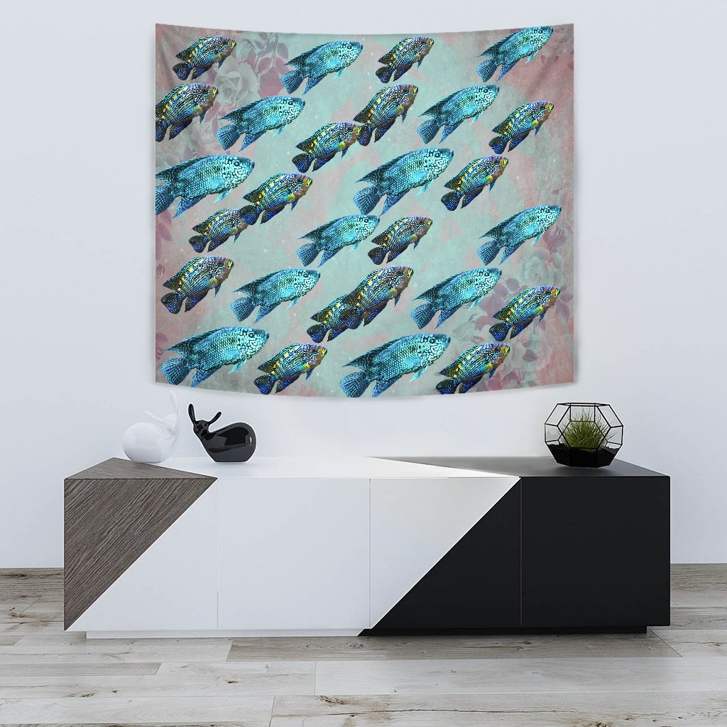 Jack Dampsy Fish Print Tapestry-Free Shipping - Deruj.com