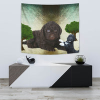 Barbet Dog Print Tapestry-Free Shipping - Deruj.com