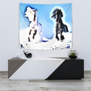 Amazing Andalusian horse Print Tapestry-Free Shipping - Deruj.com