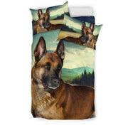 Malinois Dog Print Bedding Set- Free Shipping - Deruj.com