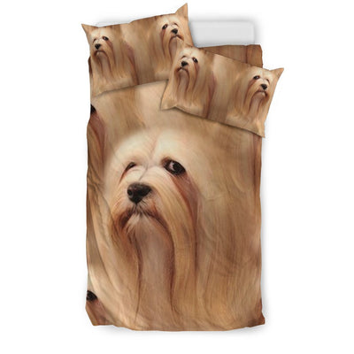 Lhasa Apso Dog Print Bedding Sets-Free Shipping - Deruj.com