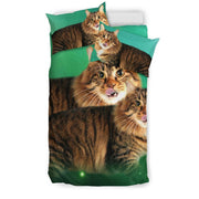Lovely American Bobtail Cat Print Bedding Set-Free Shipping - Deruj.com
