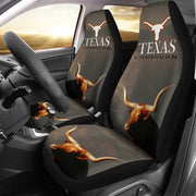 Texas Longhorn Cattle (Cow) Print Car Seat Covers-Free Shipping - Deruj.com