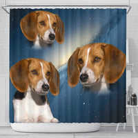 American Foxhound Print Shower Curtains-Free Shipping - Deruj.com