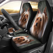 Australian Silky Terrier Print Car Seat Covers-Free Shipping - Deruj.com