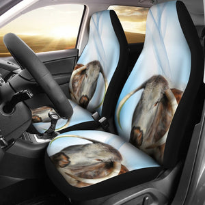 Amazing English Longhorn Cattle (Cow) Print Car Seat Covers-Free Shipping - Deruj.com