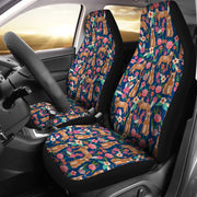 Australian Cattle Dog Floral Print Car Seat Covers-Free Shipping - Deruj.com