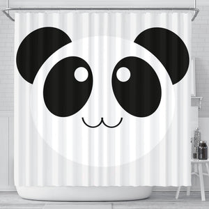 Cute Panda Bear Art Print Shower Curtains-Free Shipping - Deruj.com