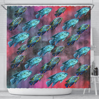 Jack Dampsy Fish Print Shower Curtains-Free Shipping - Deruj.com
