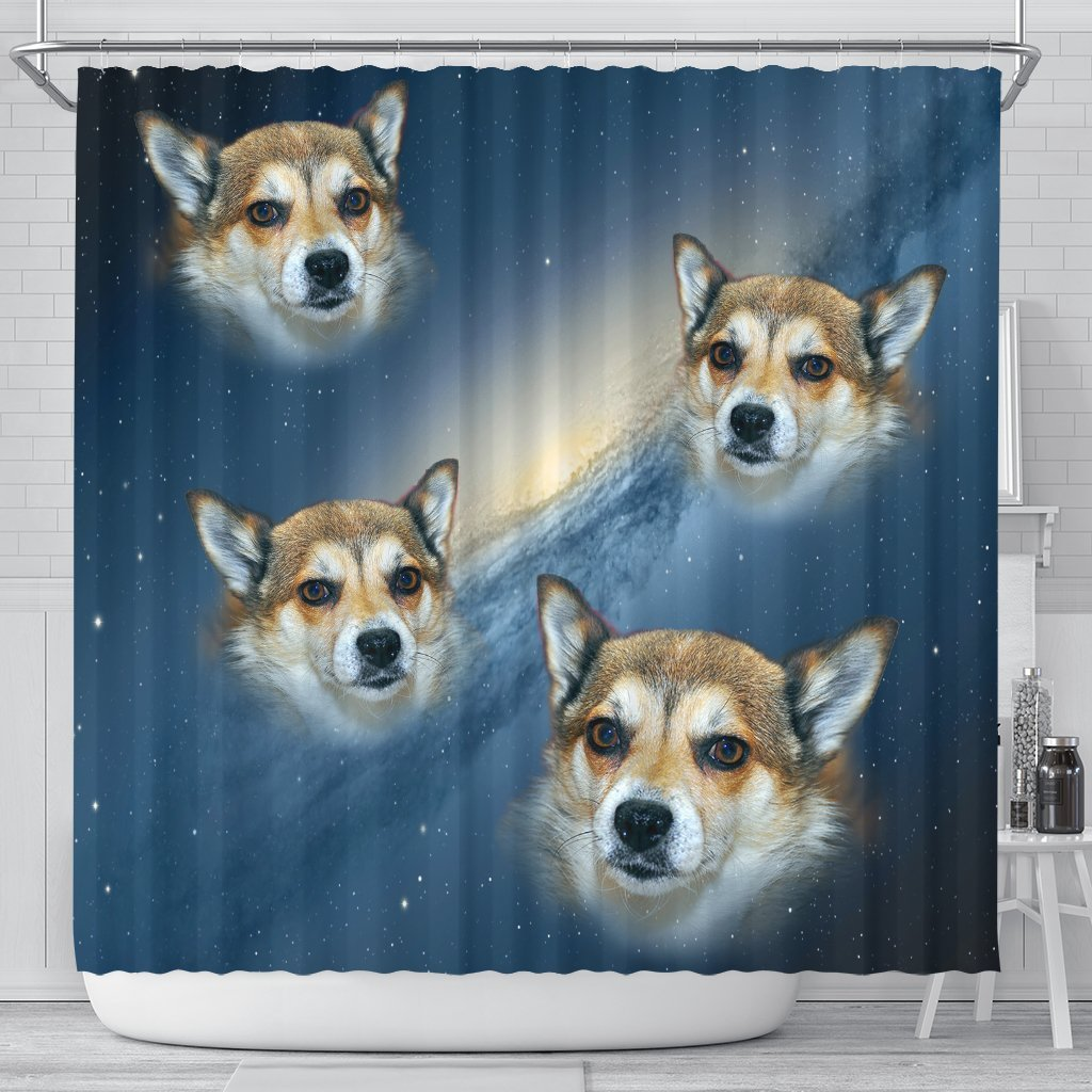 Norwegian Lundehund Print Shower Curtains-Free Shipping - Deruj.com